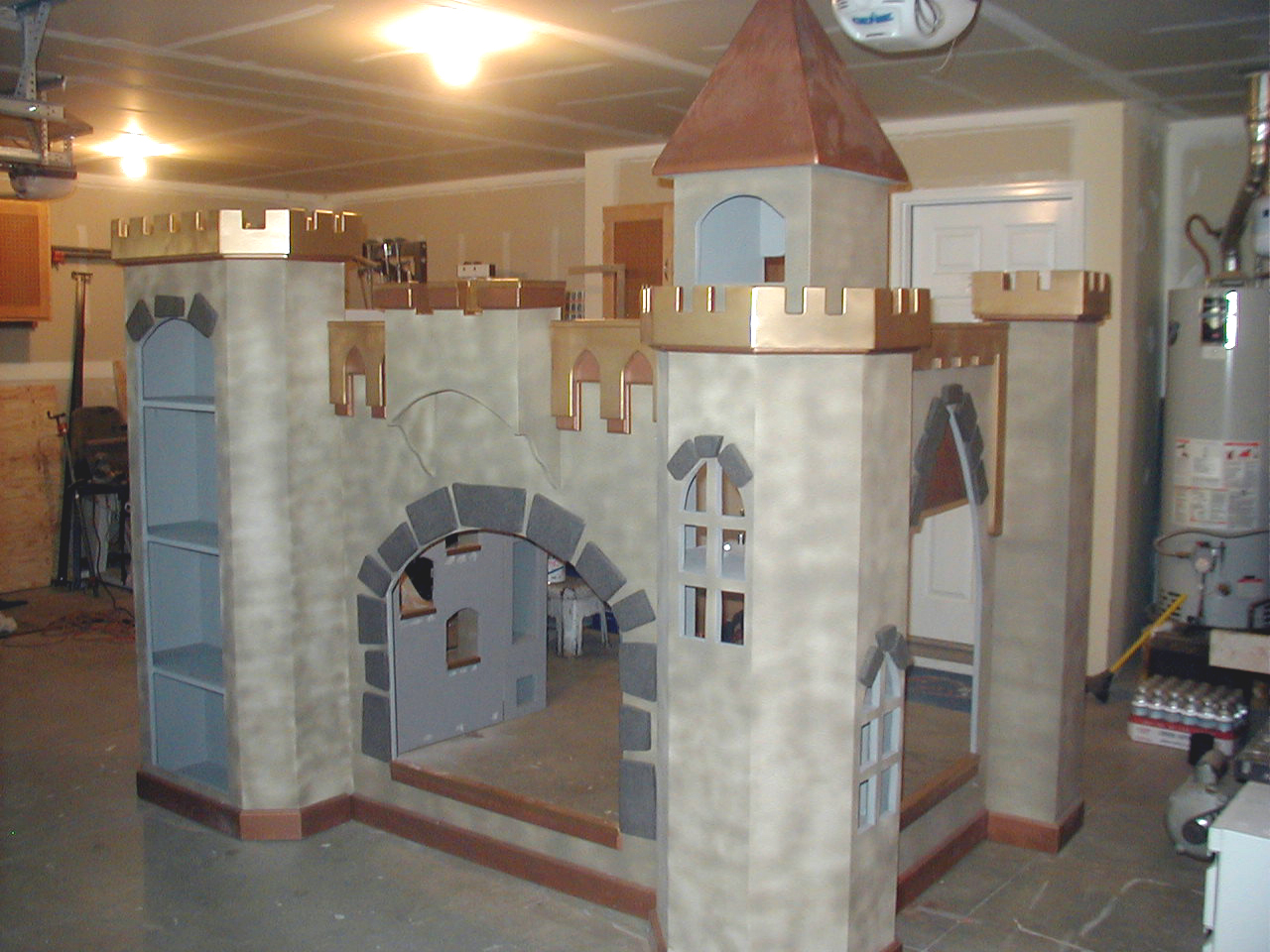 Castle built by Kurtis Leatham