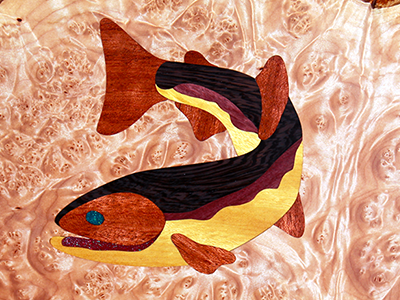 EZInlays FishFry Decorative Inlay Design